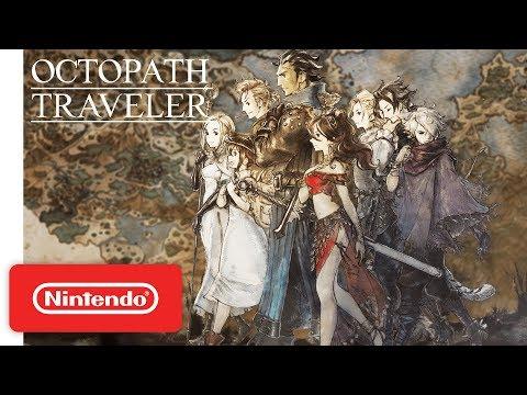 Square Enix объявила дату выхода Octopath Traveler на ПК