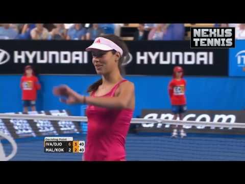 HD Novak Djokovic & Ana Ivanovic FUNNIEST MOMENTS Hopman Cup 2013