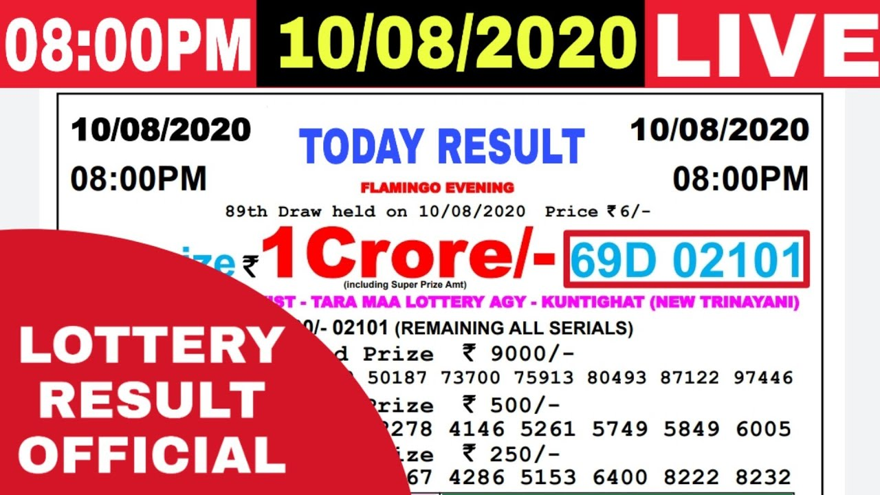 Lottery Sambad I Lottery Results I Sombad Lottery 11.55am 04.00pm 08.00pm gdn