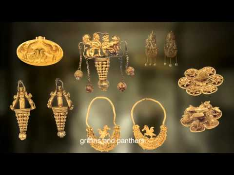 GREEK JEWELRY IN THE NATIONAL ARCHAEOLOGICAL MUSEUM ATHENS