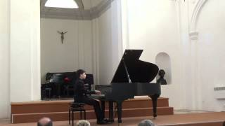 Matija Kranjcic - Croatian National Piano Competition (Dubrovnik, 2015.)