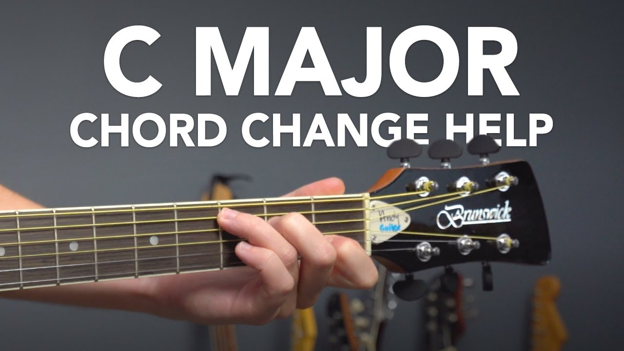 C Major Chord - 3 Simple Chord Changing Tips