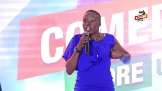 Alex Muhangi Comedy Store August 2018 - Akite Agnes
