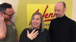 Bei Sandra Tasek fließen Tränen als Harry Lucas im Radio Antenne Vorarlberg ihre Gedanken liest.