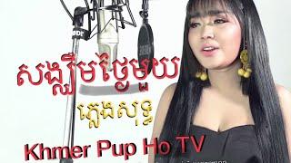 សង្ឃឹមថ្ងៃមួយ ភ្លេងសុទ្ធ ភ្លេងអកកាដង់ Songkeum Thngai Mouy Peng sot