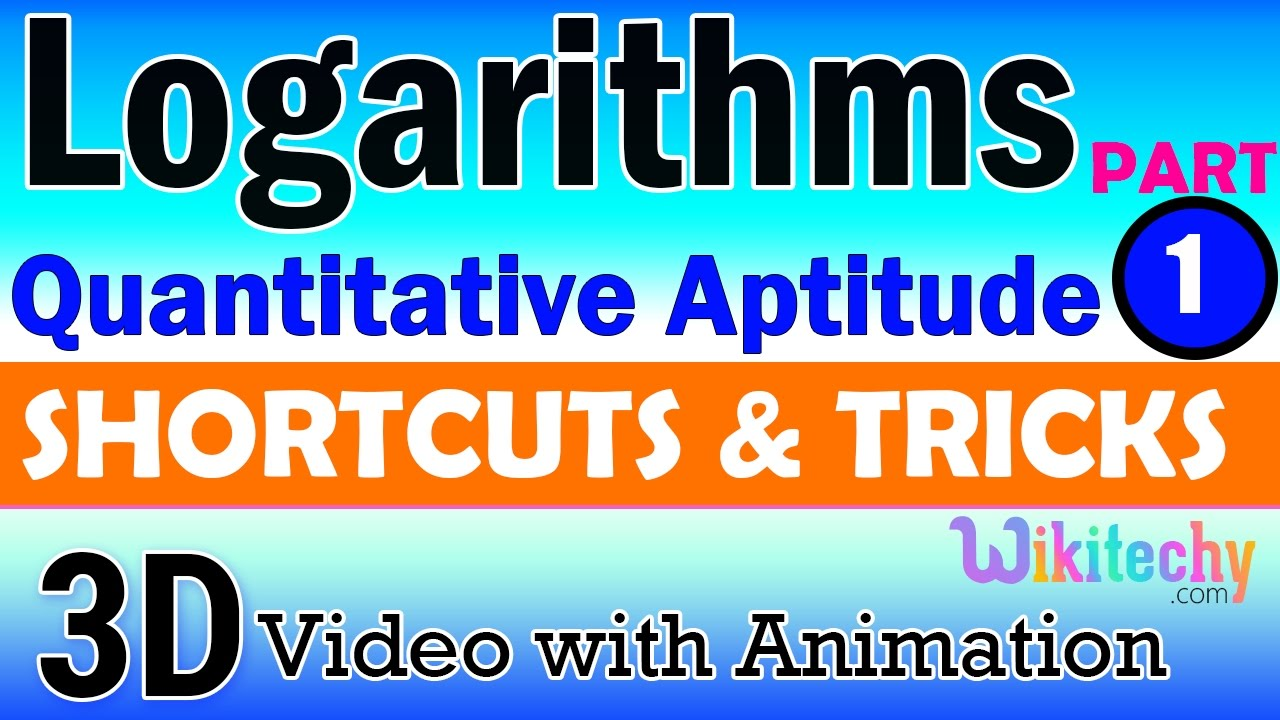logarithm 1 aptitude interview questions papers and answers online logarithm 1 aptitude interview questions papers and answers online videos lectures tips