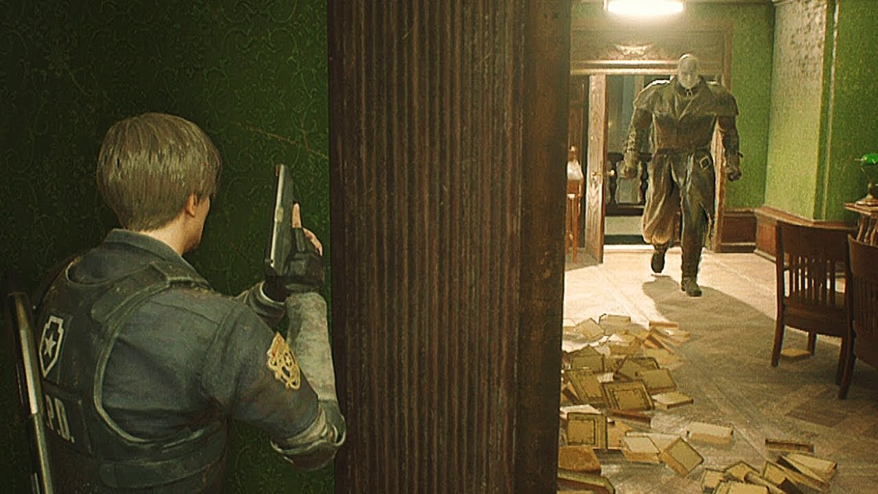 Resident Evil 2 Remake- Hide And Seek With MrX Ps4 Gameplay 1080p 60fps