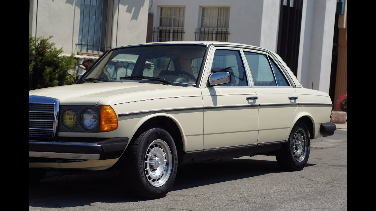 1984 mercedes 300d value