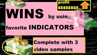 2 INDICATORS make you RICH !!! - three EXAMPLE VIDEO - iq option strategy