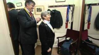 Willie Carson gets fitted for a Savile Row suit Thumbnail