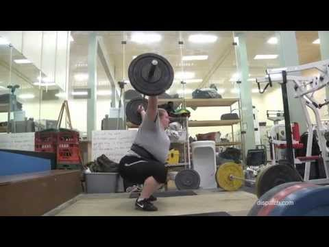 Columbus weightlifter aims for Olympics