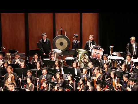 Jenny Lin 2017 Concert Symphonic Orchestra Performed fare for the Common Man by Aaron Copland
