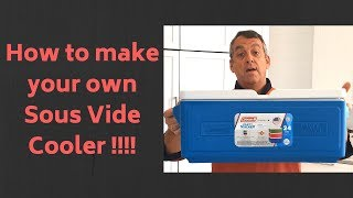How to Make a Sous Vide Cooler