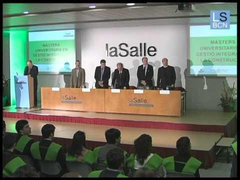 Acto de graduación de Arquitectura  de La Salle Campus Barcelona