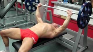 Жим штанги лежа на лавке классика. Bench press technique. Эффективные упражнения для груди.