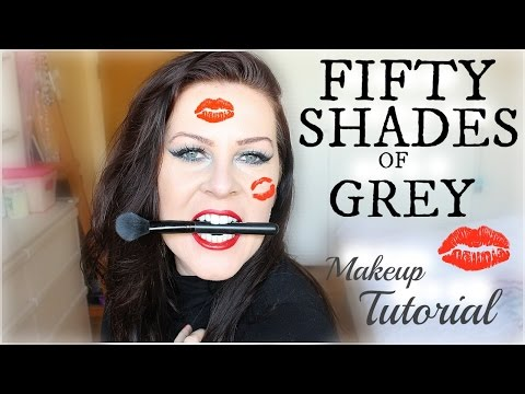 Fifty Shades Of Grey Makeup Tutorial + Bloopers