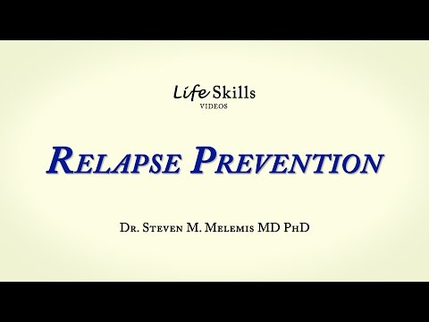 Relapse Prevention Plan and Early Warning Signs