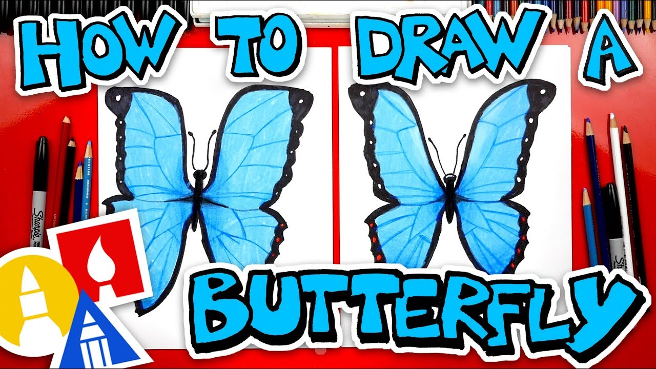 How to draw butterfly emoji realistic 🦋