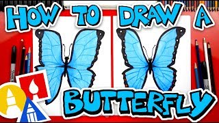 How To Draw Butterfly Emoji Realistic