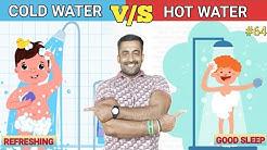 HOT WATER V/S COLD WATER SHOWER KANNADA || ಇಗ್ನಿಸ್ ಫಿಟ್ನೆಸ್ || Body Transformation specialist.