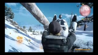 FINAL FANTASY XV Snow accdennt