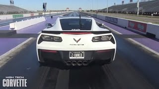 Effortless 9 Second Pass - C7 Z06 Corvette