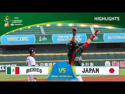 Highlights: Mexico V Japan - U-12 Baseball World Cup 2017