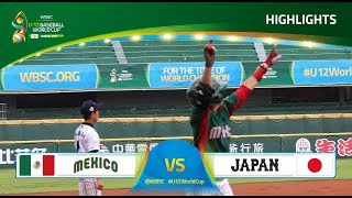 Highlights: Mexico v Japan - U-12 Baseball World Cup 2017