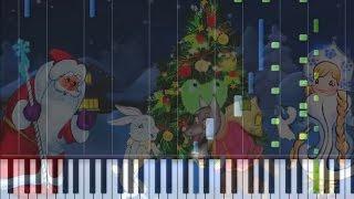 В лесу родилась ёлочка на пианино (кавер)