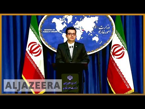 Iran's foreign minister says no prospect of negotiations with US