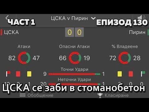 ЦСКА се заби в стоманобетон (Без Бутонки)