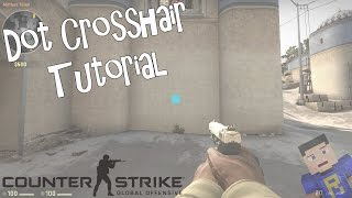 How to get a 'Dot' Crosshair/Reticle in CS:GO