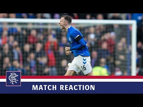 REACTION   Andy Halliday   Rangers 1-0 Celtic