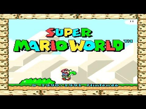 SUPER MARIO WORLD AO VIVO!!!