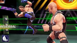 New Epic WWE Game!! Gameplay feat. AJ Styles, Brock Lesnar and More! (WWE Mayhem iOS/Android)