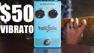 TC Electronic Tailspin Demo - Budget Vibrato Pedal