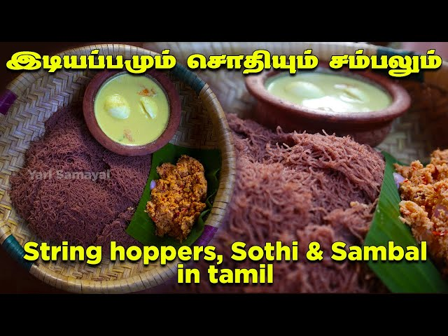 இஞ்சி சம்பலும் முட்டை சொதியும்  இடியப்பமும் சாப்பிட்டு இருக்கீர்களா? String hoppers, Sothi & sambal