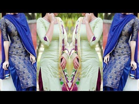 Simple Suit Design For Girls | Punjabi Suit Design | Patiala Suit Design By Stylishfashiontaste