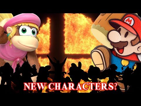 Super Smash Bros Switch - 10 Additional Newcomer Characters!