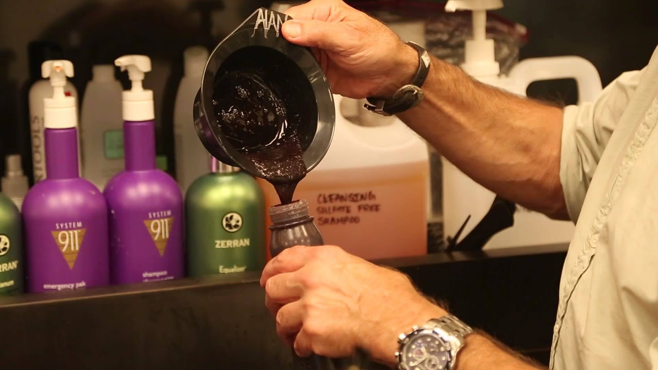 Adding Hair Dye to Shampoo : Hair & Beauty Tips