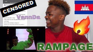 VANNDA 😱 FIRST  EPIC REACTION 🔥/VANNDA - RAMPAGE (OFFICIAL MUSIC VIDEO)..lyrics analysis