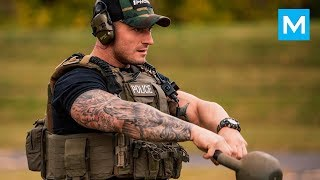 Most JACKED COP - Michael Counihan | Muscle Madness