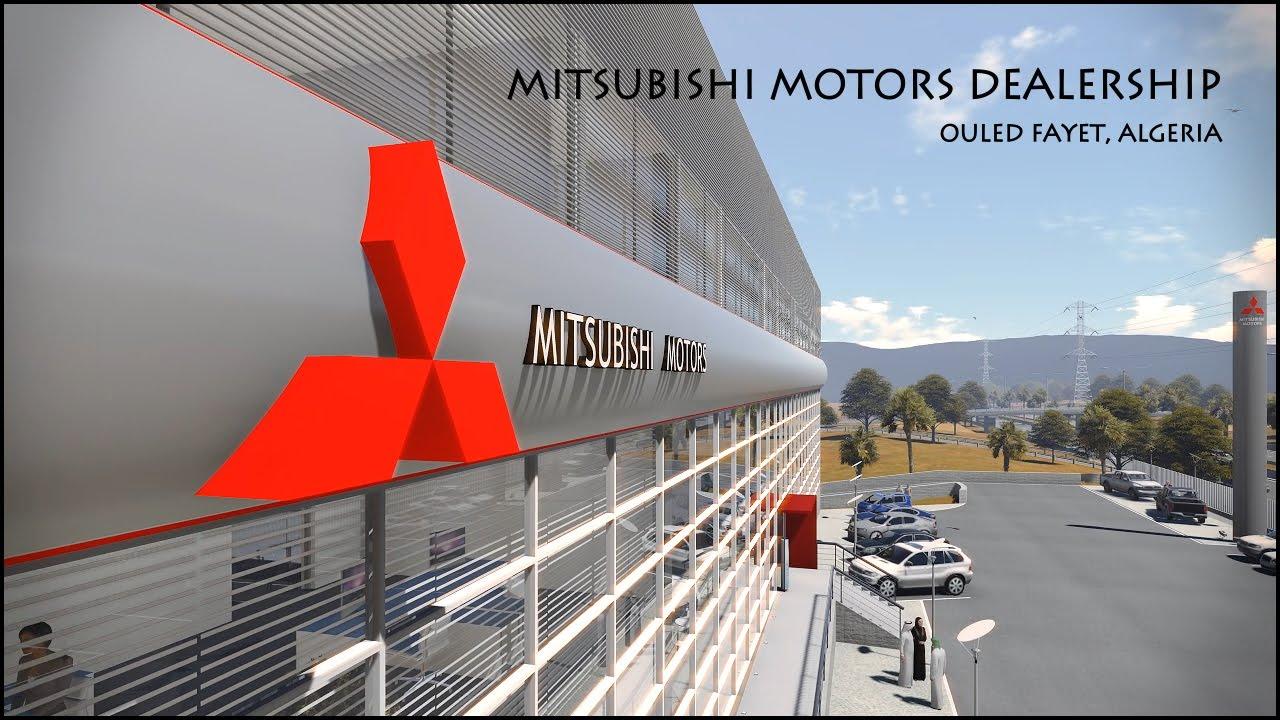 CG MITSUBISHI MOTORS DEALERSHIP OULED FAYET ALGERIA YouTube - Mitsubishi dealer ship