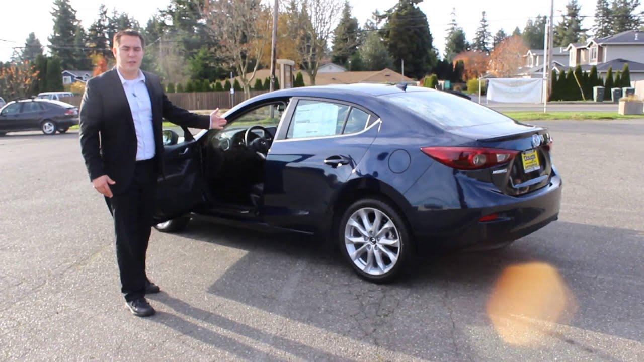 2014 Mazda3 S Grand Touring Walk Around & Review @Doug's Lynnwood ...