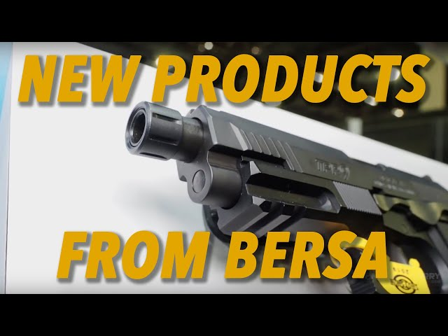 New Products From Bersa – SHOT Show 2019
