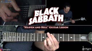 Heaven and Hell Guitar Lesson - Black Sabbath