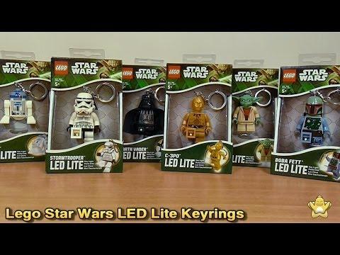 Lego Star Wars LED Lite Keyring Review