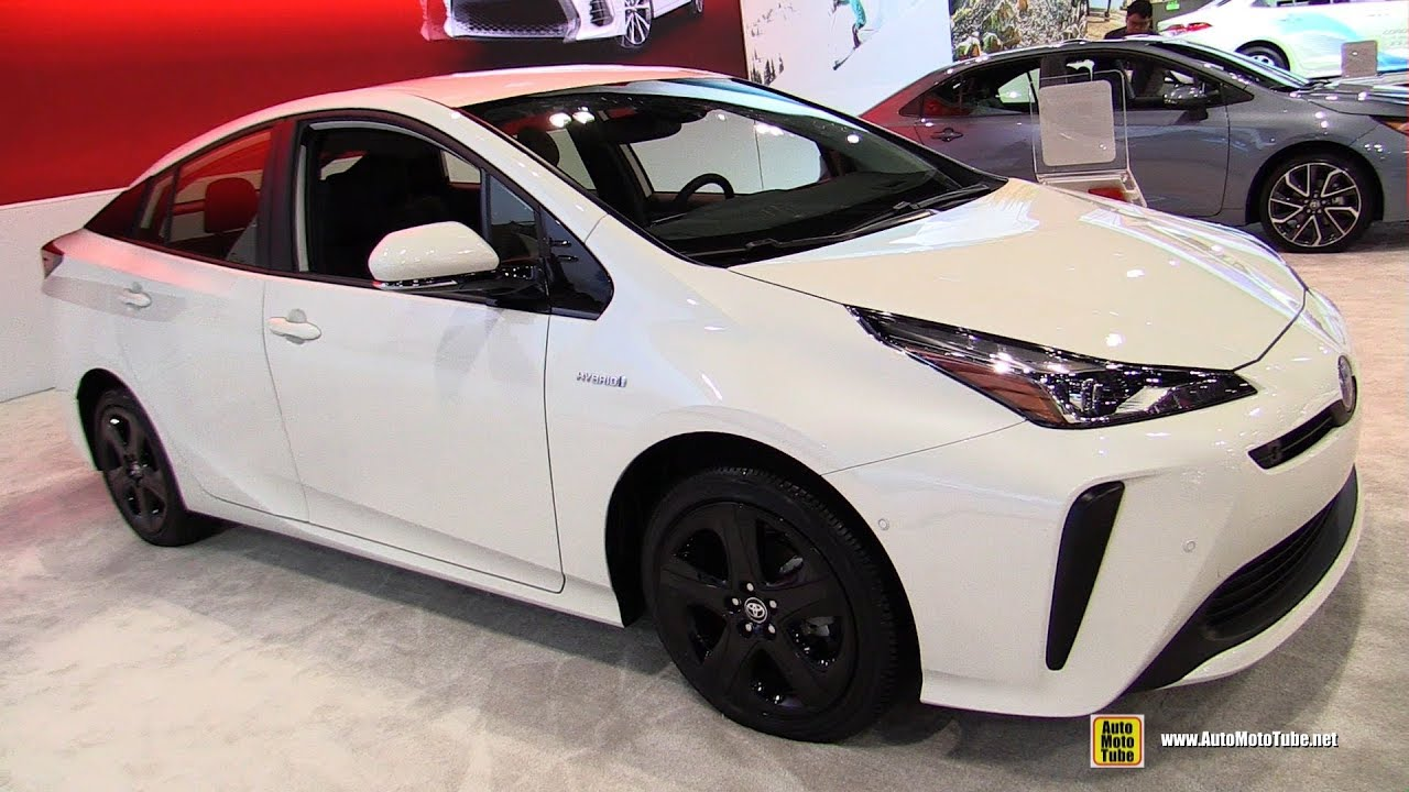 2019 Toyota Prius Limited Exterior And Interior Walkaround Debut At 2018 La Auto Show