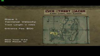 GTA Vice City - Races - Terminal Velocity (0:43)