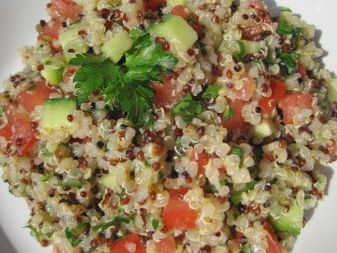 Quinoa Tabouli Salad Recipe | Clean & Delicious